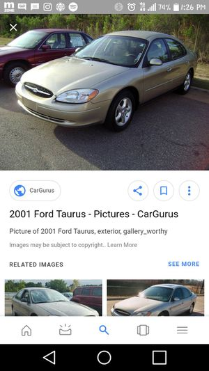 O1 ford Taurus for Sale in Cleveland, OH