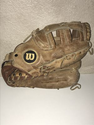 Wilson A9845 Baseball Glove left hand glove for right hand thrower. P/U @ Tropicana @ Fort Apache for Sale in Las Vegas, NV