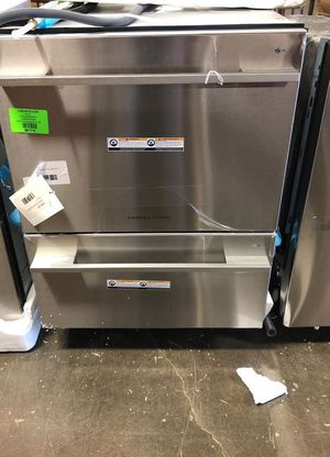 Brand New Fisher AND Paykel - 24'' Front Control Built-In Dishwasher - Stainless steel KW for Sale in Rancho Cucamonga, CA