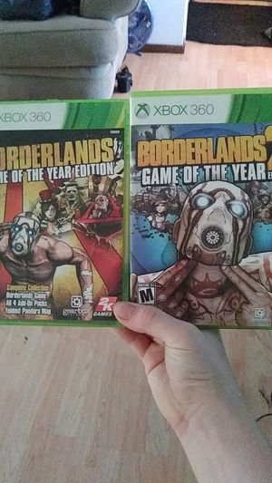 Borderlands 1 and 2 game of the year edition for Sale in Brainerd, MN