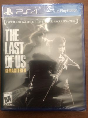 The Last of Us Remastered PS4 Sealed for Sale in Tempe, AZ