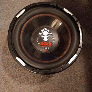 "2300 Watt Boss Audio 12"" Subwoofer. for Sale in Arroyo Grande, CA"