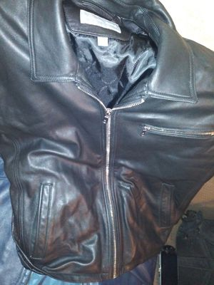 New Michael Kor leather jacket XL for Sale in San Jose, CA