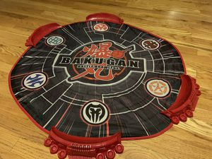 Bakugan Battle Brawlers, Battle Mat fold up travel arena with zippered carrying case $12 for Sale in Sterling, VA