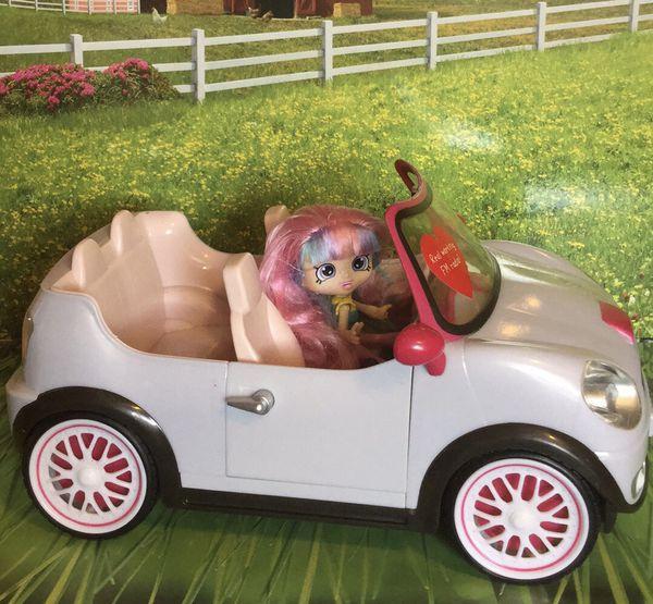 Lori Go Everywhere- Working am/fm radio- toy Car