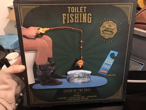 New toilet fishing game for Sale in Virginia Beach, VA