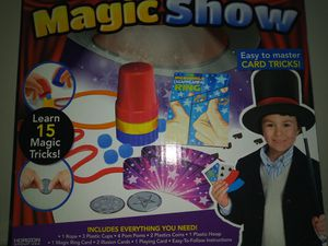 Magic Show Card Tricks for Sale in Harrisburg, PA