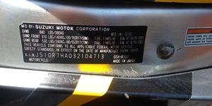 Suzuki GSX-R750, year 2012 for Sale in Escondido, CA