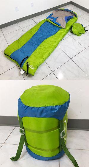 New $15 Camping Sleeping Bag Waterproof Indoor & Outdoor Hiking Lightweight w/ Portable Bag for Sale in Whittier, CA