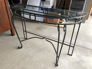 Glass Console Table for Sale in Columbus, OH