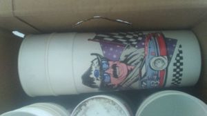 LARGE BOX OF 90'S RACING CUPS for Sale in Millers Creek, NC