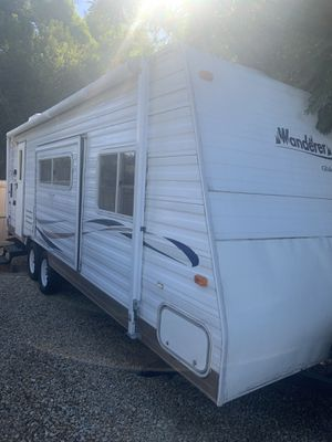2003 26' wanderer travel trailer with pop out. Wanderer Glidelite by Thor in good condition. $7900.00. Everything works! for Sale in El Cajon, CA