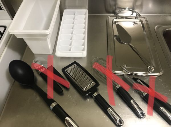 Kitchen items - Individual pricing located in description