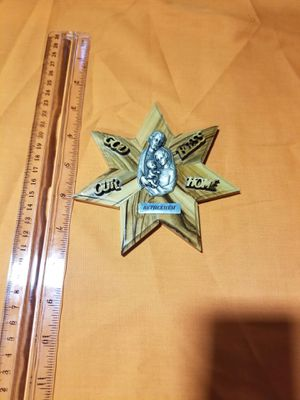 Olive wood Bethlehem star (Christmas gift) for Sale in Fort Worth, TX