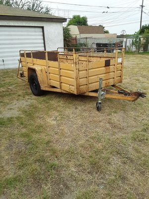 Cargo. Trailer with rear loading ramp for Sale in CTY OF CMMRCE, CA