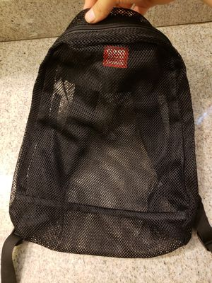 See-thru mesh backpack for travel,beach or sport events for Sale in Los Angeles, CA