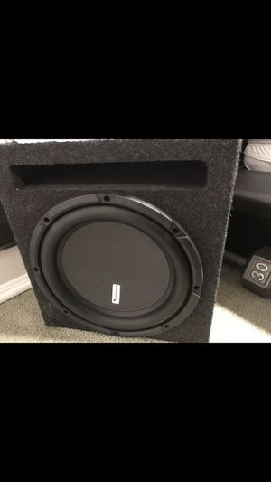12 inch subwoofer for Sale in Rockville, MD
