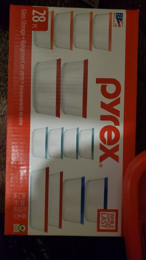 Pyrex 28 piece set glass ware for Sale in West Valley City, UT