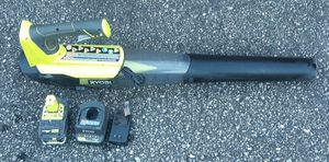 Ryobi 18-volt leaf blower kit for Sale in Greenville, SC