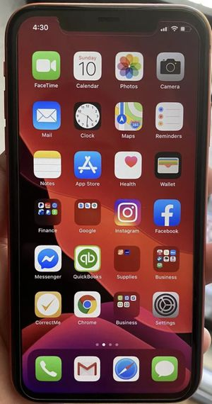 iPhone 11 Red 64 GB Sprint Unlocked GSM in box and unused accessories In Apple warranty 12/27/2020 for Sale in Redmond, WA