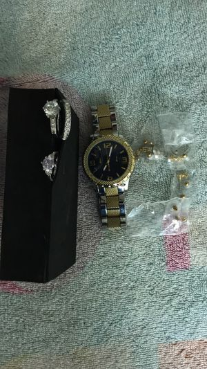 Watch, Rings, & Earrings (Shoot an Offer) for Sale in Modesto, CA