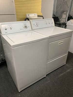 Kenmore, Top Load Washer and Electric Dryer Set, Used in Excellent Condition, 90 Day Warranty for Sale in Randallstown, MD