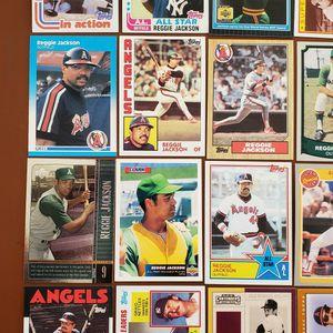 Baseball Cards - Reggie Jackson for Sale in Noblesville, IN