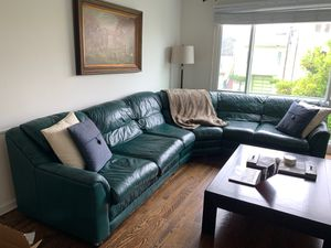 Leather sectional couch for Sale in San Francisco, CA