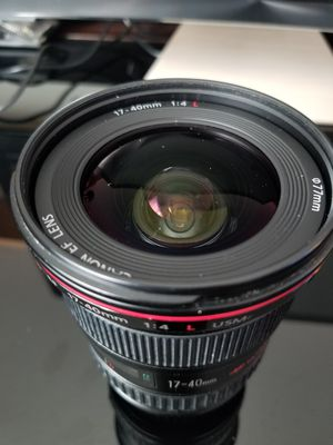 Canon 17-40mm L series lens for Sale in Brooklyn, NY