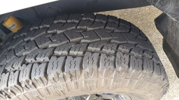 """17"""" Fuel Octane Wheels With Toyo 285 Tires"""
