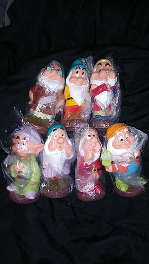 Snow White's 7 Dwarfs figurings for Sale in Hesperia, CA
