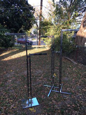 Industrial clothes racks for Sale in Dallas, TX