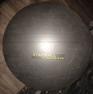 75 cm exercise ball with sand in it for Sale in Carrollton, TX
