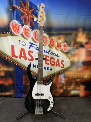 Electric Bass Guitar W EMG Pickups for Sale in Las Vegas, NV