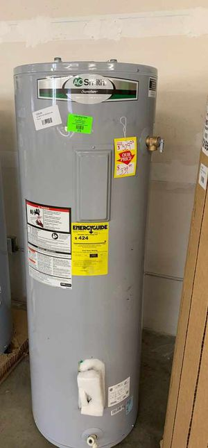 NEW AO SMITH WATER HEATER WITH WARRANTY 50 gallon JB for Sale in Dallas, TX