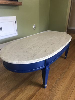 Marble stone coffee table for Sale in Peoria, IL