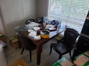 Dining table with 4 chairs for FREE for Sale in Franklin, TN