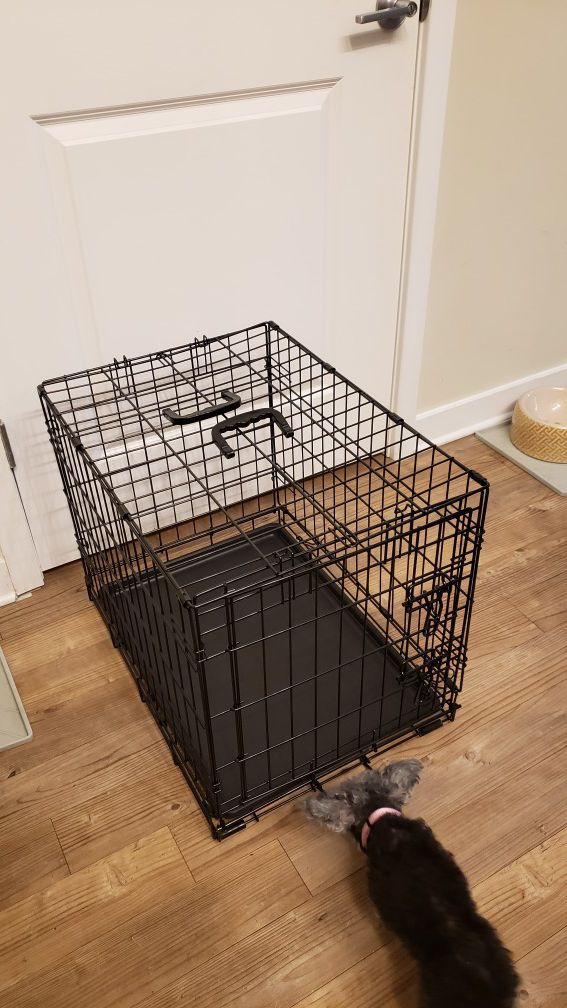 Small Dog Cage gently used