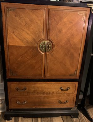 Bedroom set/suite. Oriental style. Bassett furniture. Moving must go! Pick up only delivery is not available. for Sale in Clermont, FL
