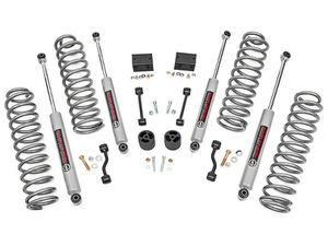 "2018-19 Jeep Wrangler 4 Door JL 2.5"" Rough Country Basic Spring Kit (Installed) for Sale in Claremont, CA"