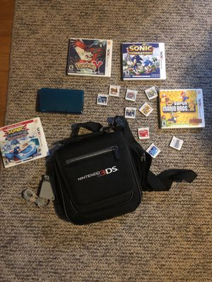 Nintendo 3ds //comes with case and 8 games for Sale in West Mifflin, PA