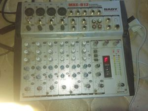 Mxe-812 8 channel stereo mixer for Sale in Concho, AZ