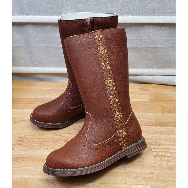 Hanna Anderson Girls Regina Knee High Boots