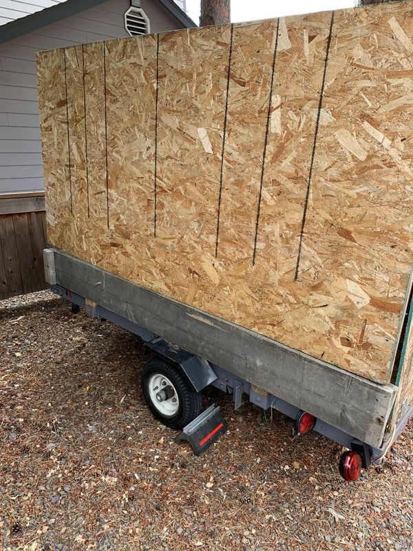 4 * 8 ft. Flatbed Utility Trailer (Needs to go ASAP)