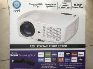 Portable projector 720HP for Sale in Houston, TX