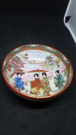 Antique Japanese porcelain plate for Sale in South Plainfield, NJ