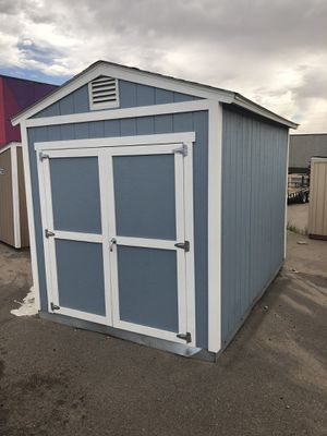 8x12 Shed with 8' sidewalls for Sale in Wheat Ridge, CO