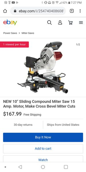 "Chicago electric 10"" compound slide miter saw for Sale in Vancouver, WA"