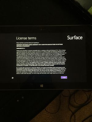 Microsoft surface tablet for Sale in Greenwood, IN
