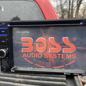 Boss Double Din With Bluetooth Music for Sale in Rockville, MD